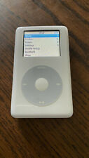 Apple iPod color classic 4th Generation White 60 GB Used with Original Box