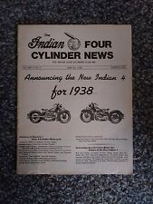 Summer 1978 Indian Four Motorcycle News Magazine 4 Cylinde