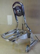 GENUINE HARLEY SOFTAIL HERITAGE PASSENGER BACKREST / SIDE PLATES / LUGGAGE RACK