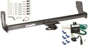 Trailer Hitch For 98-02 Chevy GEO Prizm 93-02 Toyota Corolla w/ Wiring Kit