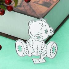 Bear Metal Cutting Dies Stencil Scrapbooking Album Paper Card Embossing Craft