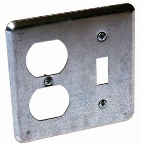 Raco 872 2 Device Switch Box Cover,No 872,  Raco Incorporated