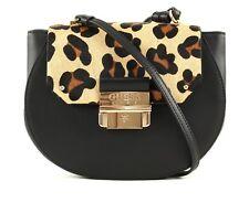 GUESS Cross Body Bag Maelle Crossbody Flap Black