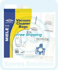 Replacement Dust Bag For Miele Complete C3 EcoLine -Pack of 5 & Filter- Type:GN