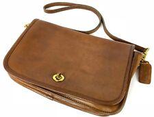 "Vintage 11"" Violette Verdy Brown Authentic NYC New York Coach Cross Body Handbag"