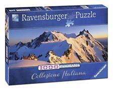 PUZZLE RAVENSBURGER 1000 PEZZI PANORAMA MONTE BIANCO 98X37,5 CM  ART 15080
