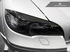AUTOTECKNIC CARBON FIBER HEADLIGHT EYELIDS COVER - 08-14 BMW E71 X6 X6M E70 X5M