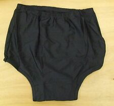 Ladies/Girls size 8-10 Netball Knickers Sports Panties stretchy cotton Black