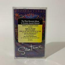 Santana Cassette Supernatural 1999 Hype Sticker Corazon Espinado Ft Mana New