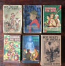 Vintage Lot Boy Scouts BSA Handbook For Boys 1924, 1928, 1943, 1948, 1956, 1972