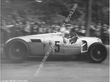 "AUTO Union Tipo C Rosemeyer 10x7"" azione PHOTO DONINGTON GP 1937"