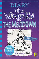 Diary of a Wimpy Kid: The Meltdown - Book 13 by Jeff Kinney - Hardback Christmas