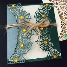 Spider web Metal Cutting Dies Stencils Craft Paper envelope Scrapbook Template
