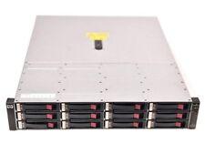 HP StorageWorks EVA4400 12-Bay Storage Shelf Array AG638-63011 AG638B 12x300G