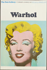 Tate Gallery Warhol Marilyn 1971 Exhibition Poster 30 x 20