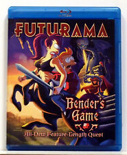 Futurama - Bender's Game (Blu-ray Disc, 2008, Checkpoint; Sensormatic; Widescree