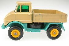MATCHBOX No 49 - Mercedes-Benz Unimog - beige - Lesney Regular Wheels -Model Car