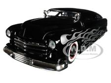 "1951 MERCURY WITH FLAMES BLACK ""BIG TIME KUSTOMS"" 1/24 DIECAST MODEL JADA 99060"