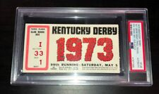 1973 Kentucky Derby Ticket Secretariat Wins Triple Crown Psa Certified