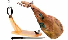 Serrano Shoulder ham, Gondola Ham Stand and Ham Carving Tool - Shoulder Ham Set