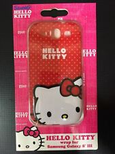 Brand New Sanrio Hello Kitty Samsung Galaxy S3 Red Hard Case KT4490