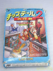 Capcom Chip And Dale'S Great Operation Nes Jan 4976219012768