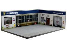 Diorama Peugeot Garage du Vallon - 1/43ème - #43-3-D-H-R-007