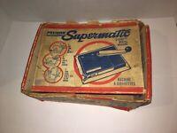Vintage Premier Supermatic Cigarette Tobacco Joint Marijuana Rolling Machine