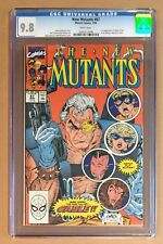 NEW MUTANTS #87 • CGC 9.8 • 1st App CABLE • White Pages 1991 Marvel Comics