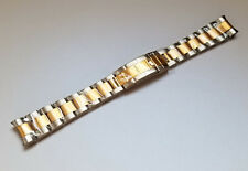 20MM TWO TONE GOLD OYSTER WATCH BAND DATEJUST 116133,116613LN SOLID END