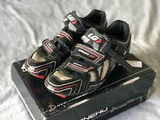 Louis Garneau Ergo Air carbon HRS2 cycling shoes [size 42 / 8.5]  black