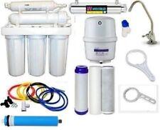 Ro Reverse Osmosis Water Filter 6 Stage System - Uv Light Sterilizer 100 Gpd