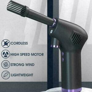 6000/15000mah Wireless Air Duster Cleaner Blower Hand-Held Cordless E3Q2