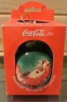 Coca-Cola Hand Made Decoupage Ornament              D