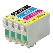 4 Ink Cartridges for Epson D68 D88 DX3800 DX3850 DX4200 DX4250 DX4800 DX4850
