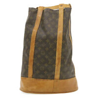 LOUIS VUITTON Monogram Randonnee GM Shoulder Bag M42244 LV Auth ar3484