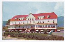 Hôtel des Sables Rouges CARLETON-SUR-MER Quebec Canada Advertising Postcard