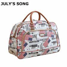 Women Travel Duffle Bag Luggage Casual PU Leather Waterproof Large Capacity New