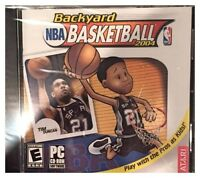 Backyard Basketball 2004 Pc New XP Play With Pros As Kids