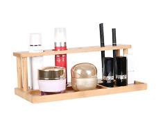 Stylischer Make-up Ständer/Schminkpinsel Regal aus 100% natürlichem Bambus
