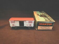 Vintage Mantua 1860 Horse Car Central Pacific Kit No. 323-B