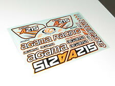 AG-1208 Agama Racing A215 buggy new decals