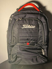 Titleist Backpack / Laptop Bag Case Embroidery Script Great Condition