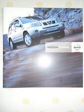 Nissan X Trail range brochure Sep 2006 South African market