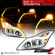 """For 08-15 Infiniti G37 Q60 2DR """"SWITCHBACK SIGNAL"""" LED DRL Projector Headlights"""