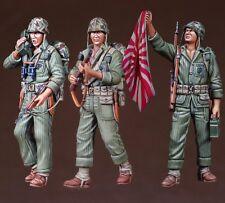 Def.model, do35c10, seconda guerra mondiale USMC FANTERIA Set (3 cifre), 1:35