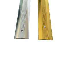 Cover Strip -  Carpet Metal -  Door Bar Trim - Threshold - Brass/Silv​er