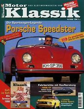 Motor Klassik 4/98 1998 Nash 872 MGB GT Opel Monza S 356 Speedster Fulvia Sport