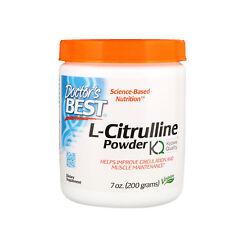 Doctor s Best L-Citrulline Powder 7 oz 200 g Gluten-Free, Soy-Free, Vegan