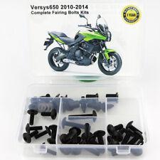 For Kawasaki Versys 650 2010-2014 Complete Fairing Bolts Fasteners Kit Titanium